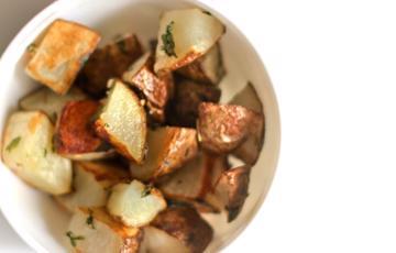 Khoai tây nướng thảo mộc