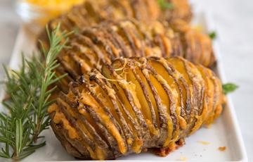 Khoai tây phô mai đút lò