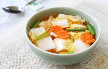 Kim chi nước - Nabak kim chi