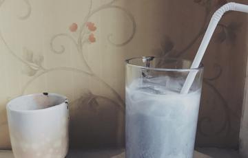 Latte tinh than tre detox cơ thể