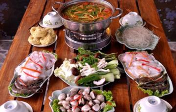 Lẩu Thái hải sản chua chua cay cay