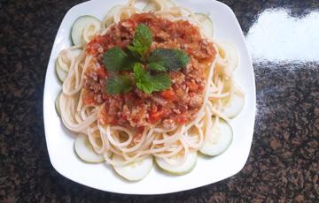 Mì spaghetti thơm ngon