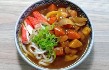 Mì udon cà ri - Japanese style