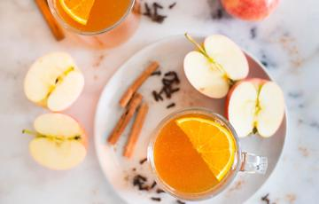 Nước táo quế nóng - Hot Apple Cinder