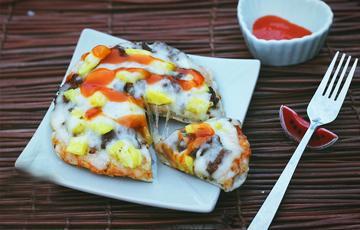 Pizza bằng nồi cơm điện