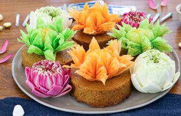 Pudding hoa sen