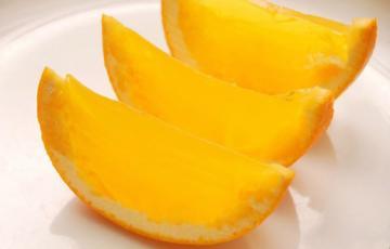 Rau câu rượu hình trái cam