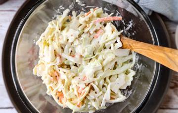 Salad bắp cải sốt mayonnaise