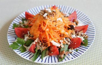 Salad cà rốt cà chua