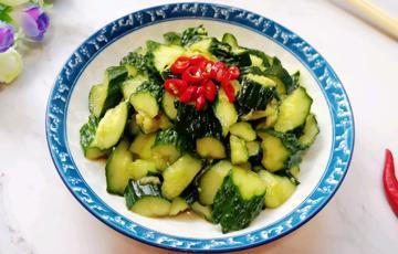 Salad dưa leo giảm cân