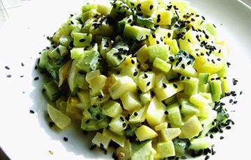 Salad dưa leo khoai tây
