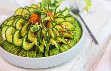 Salad dưa leo trộn