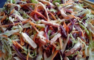 Salad gà