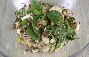 Salad nấm sò