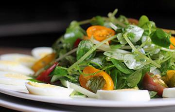 Salad rau càng cua