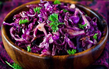 Salad rau củ trộn dầu mè