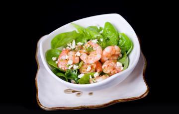 Salad tôm phô mai