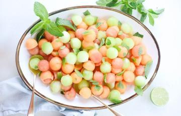 Salad trái cây bi