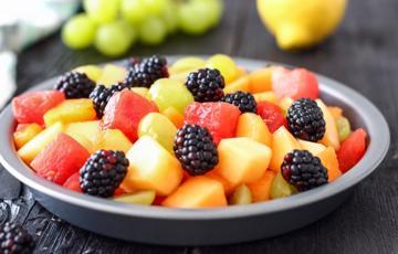 Salad trái cây sốt mật ong