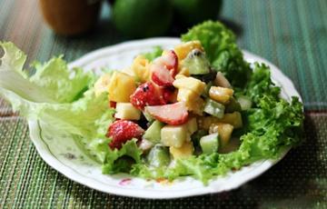 Salad trộn trái cây