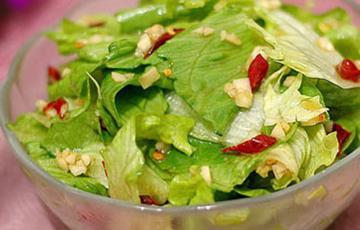 Salad xà lách trộn
