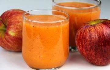 Sinh tố táo cà rốt