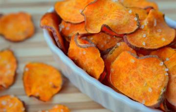 Snack khoai lang nướng đường
