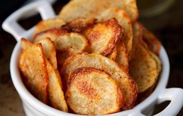 Snack khoai tây nướng cay