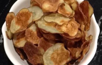 Snack khoai tây nướng giòn cay