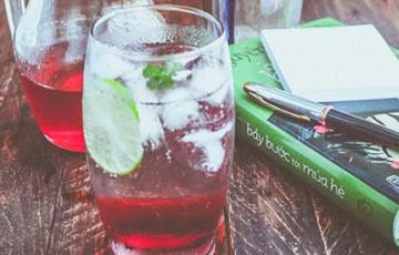 Soda siro dâu tây