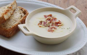 Soup khoai tây sữa tươi