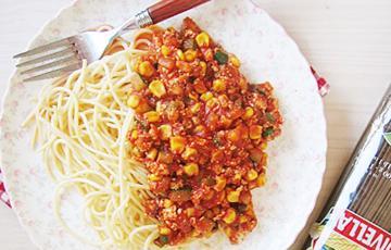 Spaghetti bắp