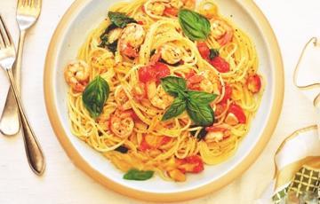 Spaghetti tôm