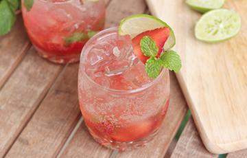 Strawberry Mojito dâu tây