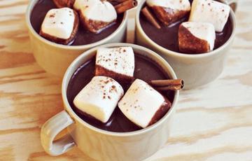 Sữa chocolate vị quế