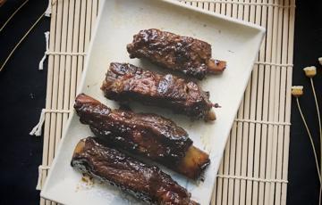 Sườn BBQ đơn giản với nồi cơm điện