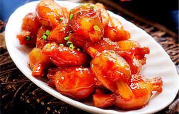 Sườn chay sốt chua ngọt