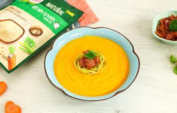 Súp bí đao cà rốt