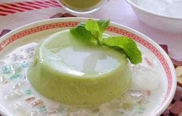Thạch bơ sữa dừa
