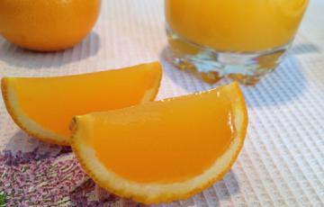 Thạch cam đẹp mắt