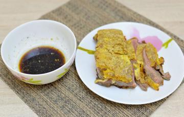 Thịt bò chiên trứng