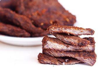 Thịt bò khô bằng nồi cơm điện