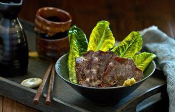 Thịt bò tẩm sốt nướng