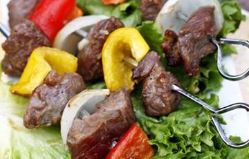 Thịt bò xiên nướng