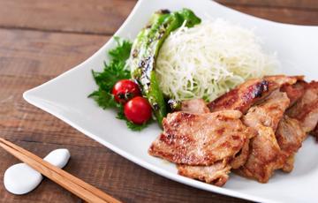Thịt chiên gừng kiểu Nhật
