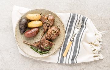 Thịt cừu nướng Địa Trung Hải