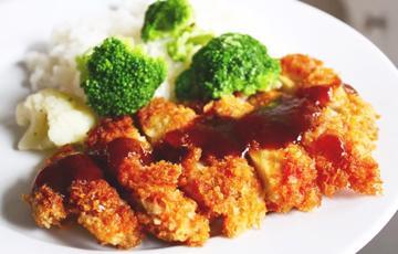 Thịt gà chiên kiểu Nhật