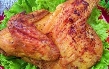 Thịt gà nướng muối tiêu