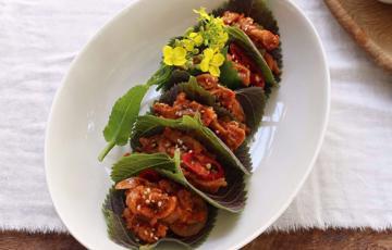Thịt heo xào tương ớt Hàn Quốc