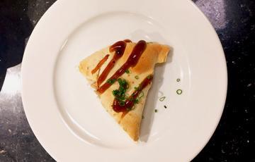 Tortilla nướng bơ